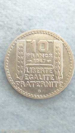 10 francs 1947