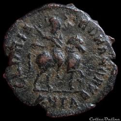 Ae4 Théodose I - Antioche RIC. 69 a 1