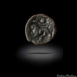 Ambiani | Bronze aux abeilles et au lion - DT. 500