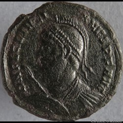Ae3 Julien II - Constantinople RIC. 166
