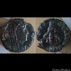 monnaie antique romaine not in ric cf ric 62
