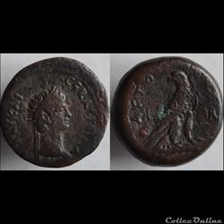 Ae25 Di-Obole Claudius - Alexandrie RPC....