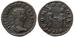 PROBUS RIC 325 A2 BUST CONCORD MILI