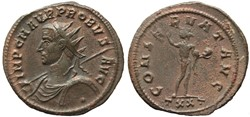 PROBUS RIC 348 VAR. EXTREMELY RARE AND U...