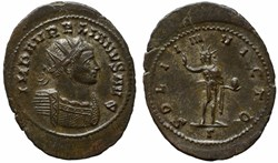 AURELIAN RIC TEMP 1611