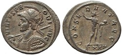 PROBUS RIC 351 SOLDIERS WITH SHIELDS ON ...
