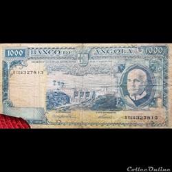 ANGOLA - P 096 - 1000 ESCUDOS - 1962