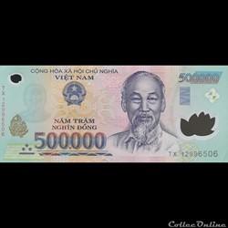 VIÊT NAM - P 124 G - 500.000 DÔNG - 2012