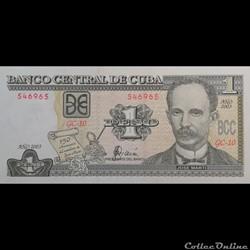 CUBA - P 125 - 1 PESO - 2003