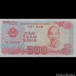 VIÊT NAM - P 101 - 500 DÔNG - 1988