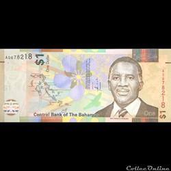BAHAMAS - P 077 - 1 DOLLAR - 2017