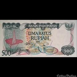 INDONESIE - P 121 - 500 RUPIAH - 1982