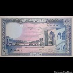LIBAN - P 66 D - 100 LIVRES - 1988
