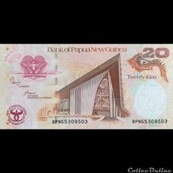 PAPOUASIE NOUVELLE GUINEE - P 36 - 20 KI...