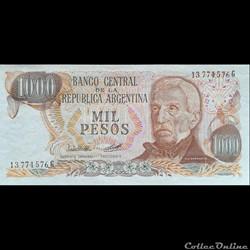 ARGENTINE - P 304 C (1) - 1000 PESOS - 1977