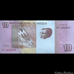 ANGOLA - P 151B - 10 KWANZAS - 2012