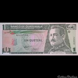 GUATEMALA - P 90 - 1 QUETZAL - 1994