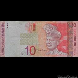 MALAISIE - P 46 - 10 RINGGIT - 2004