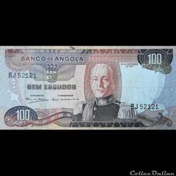 ANGOLA - P 101 - 100 ESCUDOS - 1972
