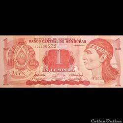 HONDURAS - P 096 A - 1 LEMPIRA - 2012
