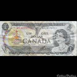 CANADA - P 085 C - 1 DOLLAR - 1973
