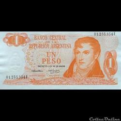 ARGENTINE - P 293 - 1 PESO - 1974