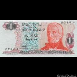 ARGENTINE - P 311 A (1/2) - 1 PESO - 1984