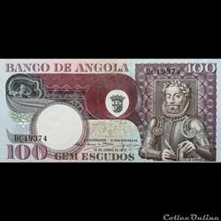 ANGOLA - P 106 - 100 ESCUDOS - 1973