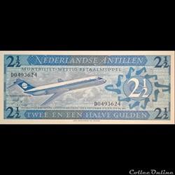 ANTILLES NEERLANDAISES - P 021 - 2,1/2 G...