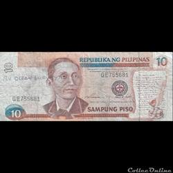 PHILIPPINES - P 181 B - 10 PISO - 1997