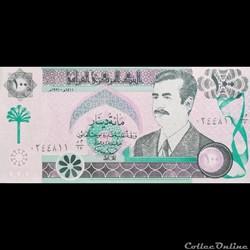 IRAK - P 76 - 100 DINARS - 1991
