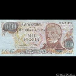 ARGENTINE - P 304 D (2) - 1000 PESOS - 1978