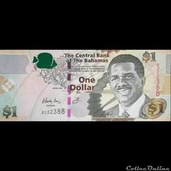 BAHAMAS - P 071 - 1 DOLLAR - 2008
