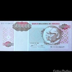 ANGOLA - P 140 - 500 000 KWANZAS - 1995