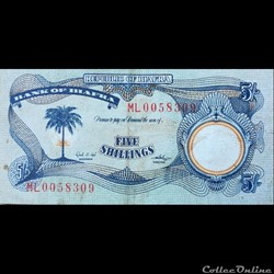 BIAFRA - P 03 A - 5 Shillings - 1968