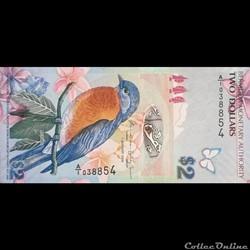 BERMUDE - P 057 B - 2 DOLLARS - 2009