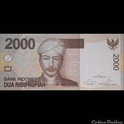 INDONESIE - P 148 G - 2.000 RUPIAH - 201...