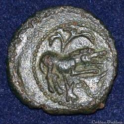SANTONS / CENTRE-OUEST, Incertaines Bronze CONTOVTOS (quadrans)
