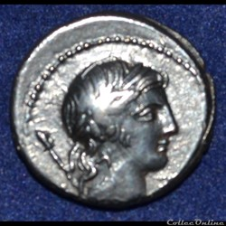 monnaie antique romaine crepusia