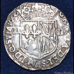 Henri IV - Quart d'écu de Navarre