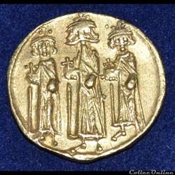 Héraclius, Héraclonas et Héraclius Constantin