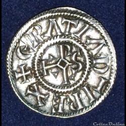 Charles II le Chauve - Denier de Rennes