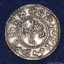 Charles II le Chauve Denier de Laon