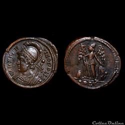 Nummus avec Constantinople / Lyon / RIC ...
