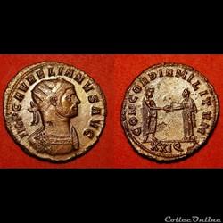 Aurelianus d'Aurélien / Siscia / Concordia