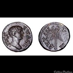 Geta / Byzance, Thrace / Caducée ailé / Rare