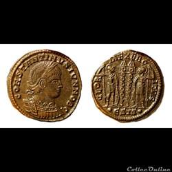 Constantin II / Siscia / Gloria Exercitus