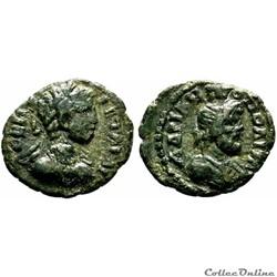 Geta / Hadrianopolis, Thrace / Sérapis / Rare