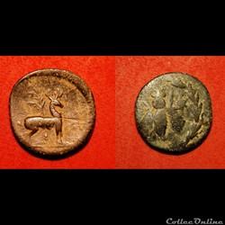 Ephèse, Ionie / Abeille § cerf