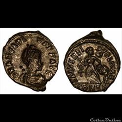 Arcadius / Constantinople / Officine non répertoriée dans le RIC